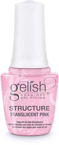 Gelish Translucent Pink Brush on Structure