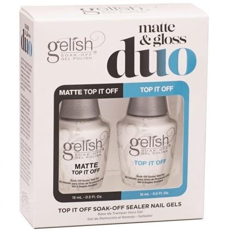 Gelish Duo Matte & Gloss