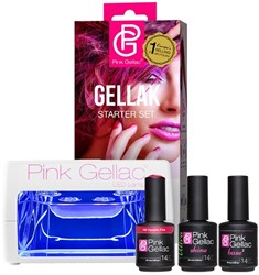 Pink Gellac Starter Set LED