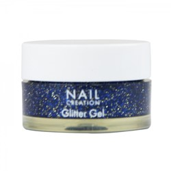 Nail Creation Glitter Gel - Blueberry Blue 5 ml