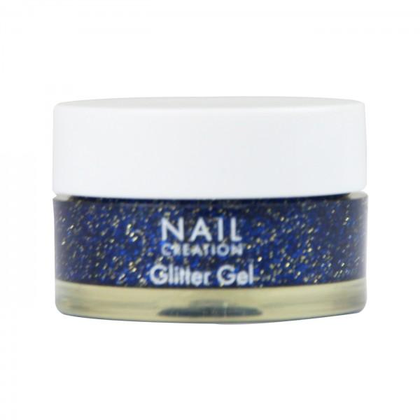 Afbeelding van Nail Creation Glitter Gel - Blueberry Blue 5 ml