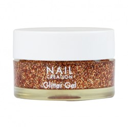 Nail Creation Glitter Gel - Bronze 5 ml