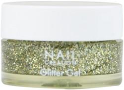 Nail Creation Glitter Gel - Champagne 5 ml