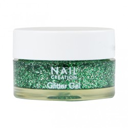 Nail Creation Glitter Gel - Forrest Secret 5 ml
