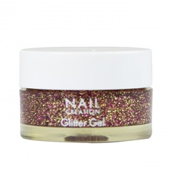 Nail Creation Glitter Gel - Golden Dragon 5 ml