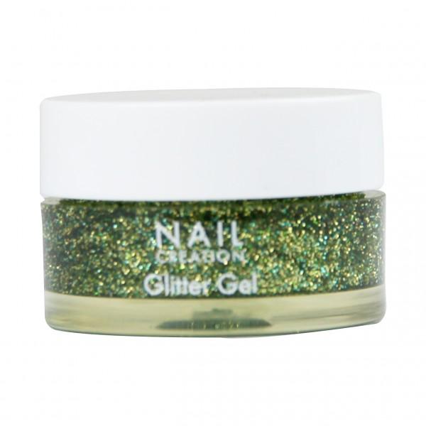Afbeelding van Nail Creation Glitter Gel - Green 5 ml
