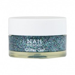 Nail Creation Glitter Gel - Ocean Blue 5ml