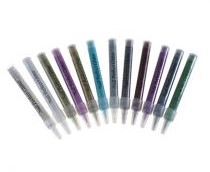 Nail Perfect - Glitter tube Black