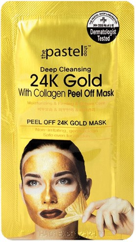 Deep Cleansing With Collagen Peel Off 24K Gold