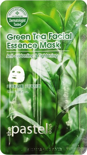 Green Tea Facial Essence Sheet - Doos 12stuks