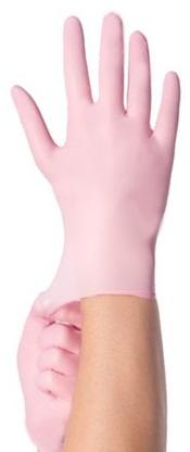 Soft-Nitrile Handschoenen - ROZE - Maat S