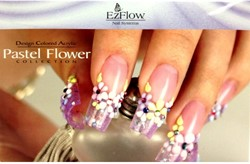 EzFlow Pastel Flower Collection