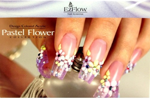 EzFlow Pastel Flower Collection