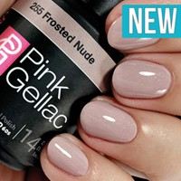 Pink Gellac #255 Frosted Nude