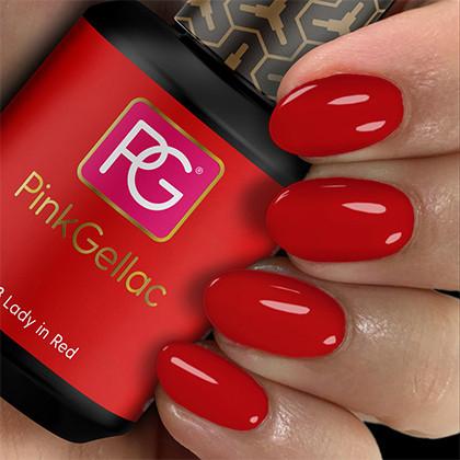 Afbeelding van Pink Gellac #108 Lady in Red