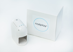 Nailplay 1 vinger LED lamp