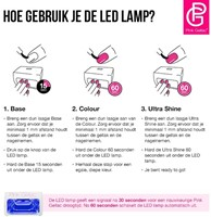 Pink Gellac Starter Set LED-2