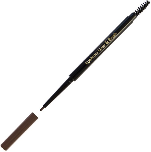 CF - Eyebrow Liner & Brush Dark Brown