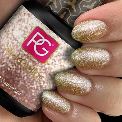 Afbeelding van Pink Gellac #130 Luxury Gold