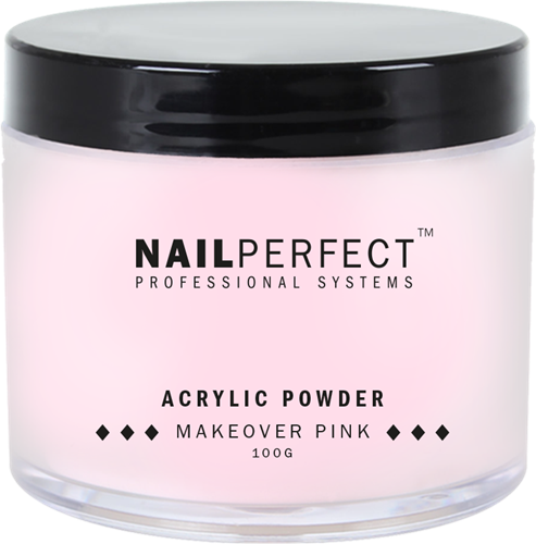 Nail Perfect Acryl Poeder - Makeover Pink 100 gr