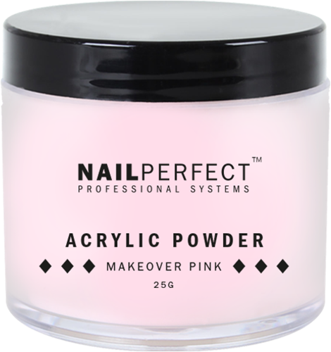 Nail Perfect Acryl Poeder - Makeover Pink 25 gr
