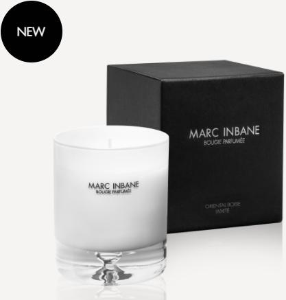 Marc Inbane kaars - Bougie Parfumée Oriental Boisé White