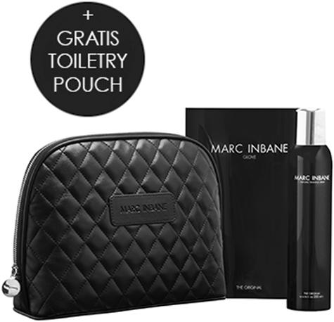 6x Marc Inbane - Spray + Glove + GRATIS toilettas