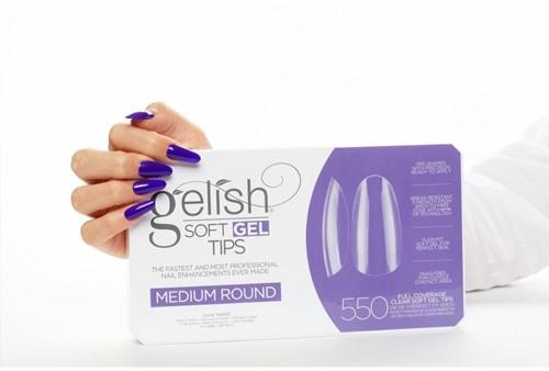 Gelish - Soft Gel Tips Medium Round