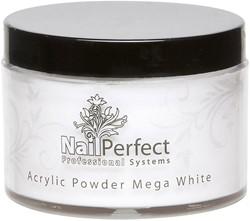 Nail Perfect Acryl Powder - Mega White