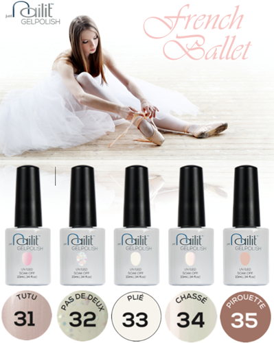 NailIt Gelpolish - French Ballet Collection Pack