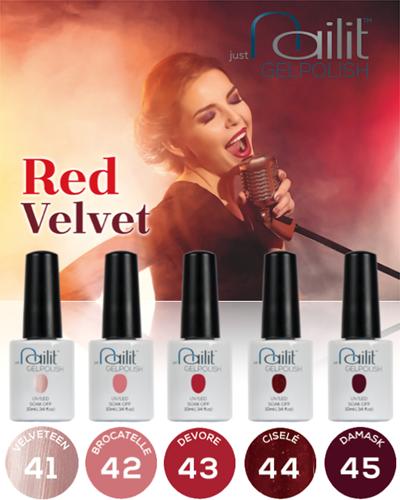 NailIt Gelpolish - Red Velvet display