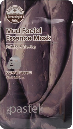 Mud Facial Essence Sheet - Doos 12stuks