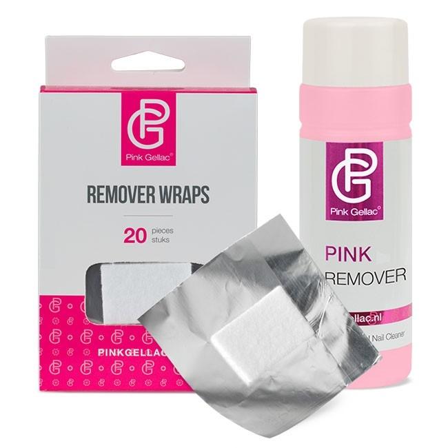 Afbeelding van Pink Gellac - Remover Set