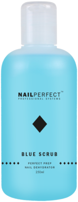 Nail Perfect Blue Scrub 250ml