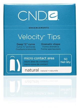 CND™ Velocity Tips - Natural 10
