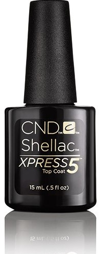 CND™ Shellac™XPRESS5 Topcoat 15 ml