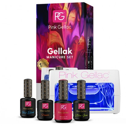 Pink Gellac Starter Set LED