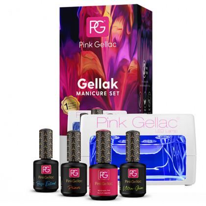 Afbeelding van Pink Gellac Starter Set LED