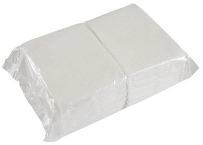 Tabletowels - 125 stuks Wit