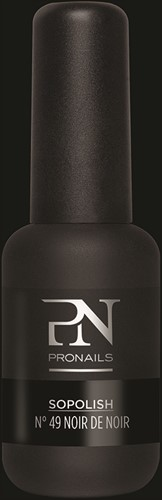 ProNails Sopolish #49 Noir de Noir 8ml