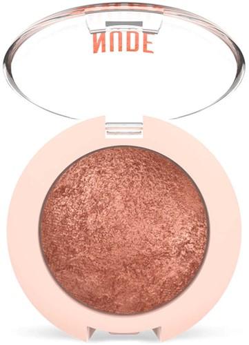 GR - Nude Look Baked Eyeshadow #02 Rosy Bronze