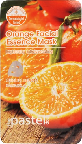 Orange Facial Essence Sheet Mask - Doos 12stuks