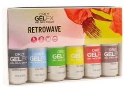 ORLY GELFX - Retrowave Collectie 6pack