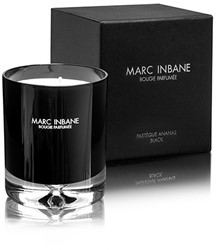 Marc Inbane kaars - Bougie Parfumée Pastéque Ananas Black