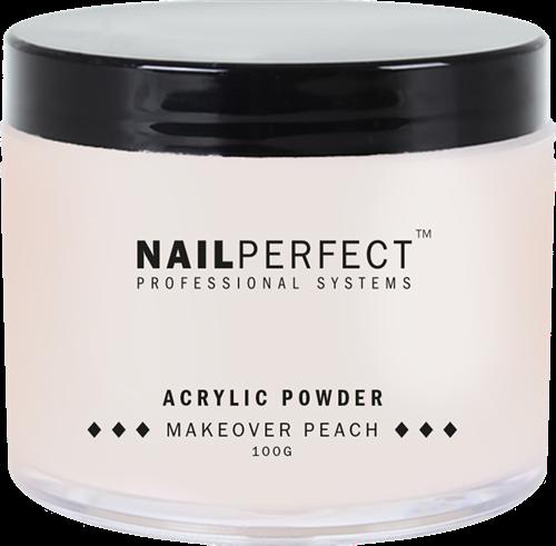 Nail Perfect Acryl Poeder - Makeover Peach 100 gr