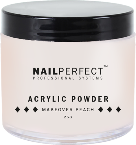 Nail Perfect Acryl Poeder - Makeover Peach 25 gr