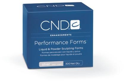 CND™ Performance Forms Silver sjablonen