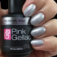 Pink Gellac #231 Strictly Silver