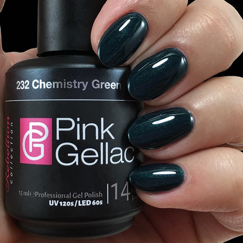 Pink Gellac #232 Chemistry Green