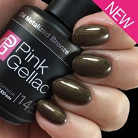 Pink Gellac #234 Metalized Bronze-3